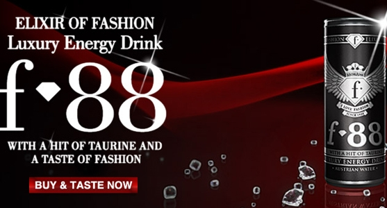 F88 Luxury Energy Drink